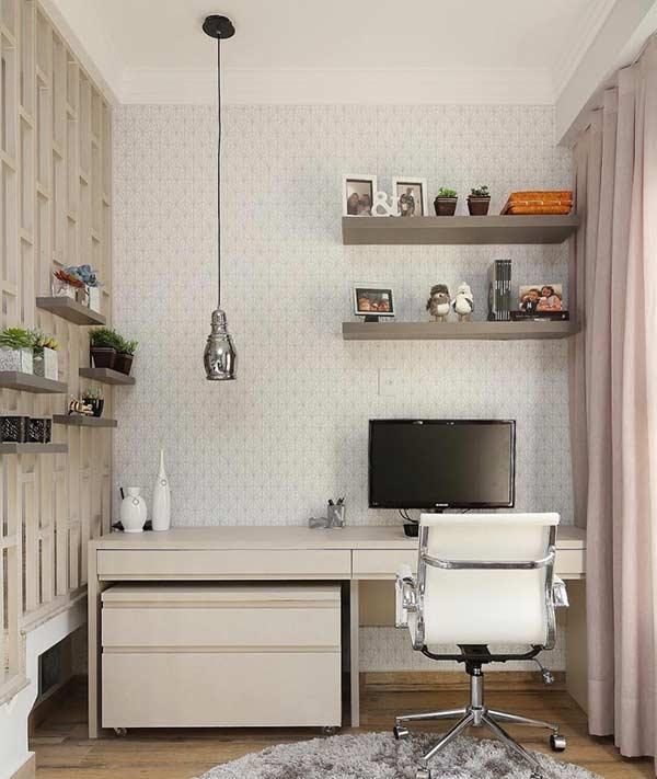 Choose a soft color in the decor