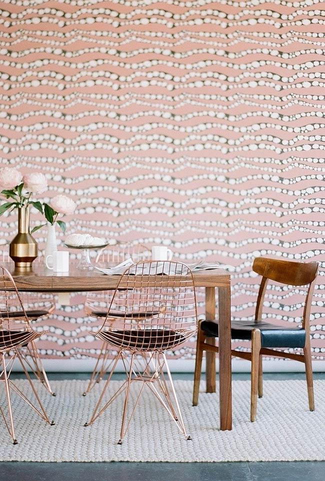 Wallpaper with different pattern