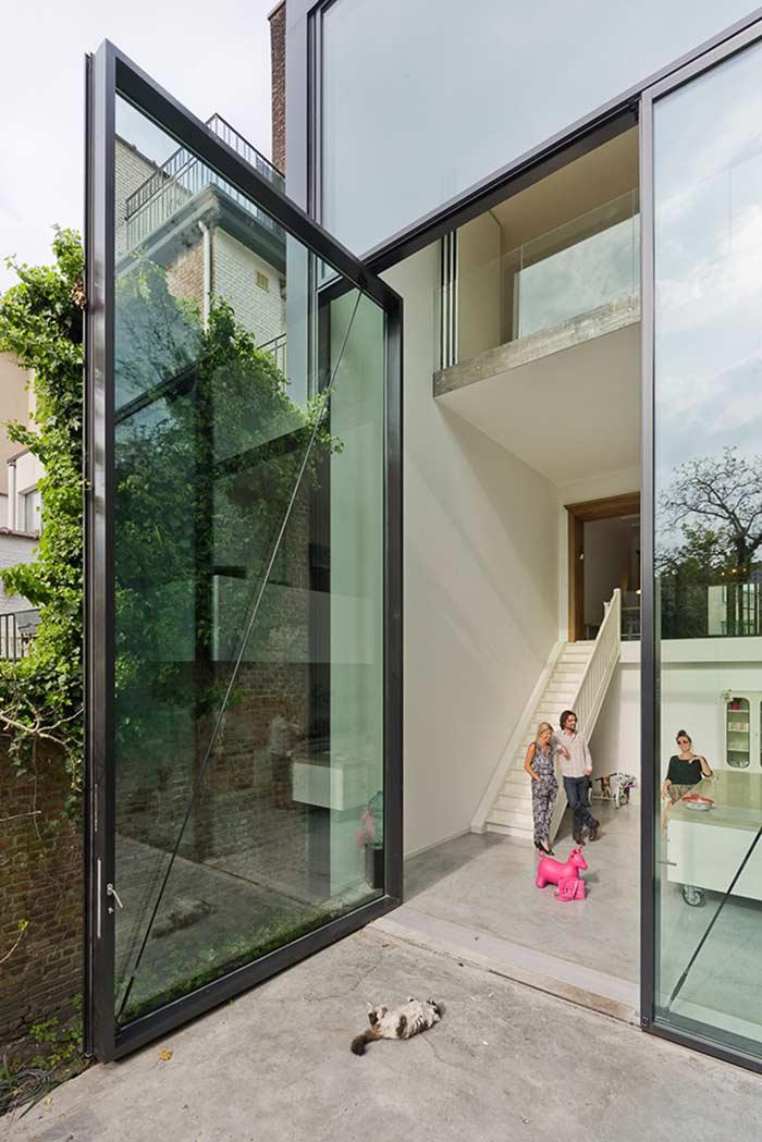 Glass door: 60 ideas and projects to inspire 13