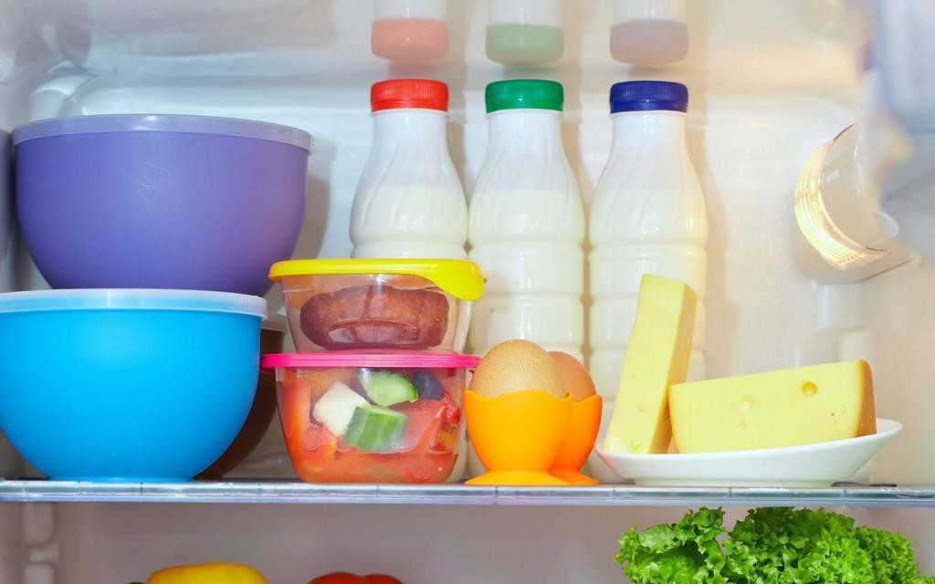 How to Organize Refrigerator: First Shelf