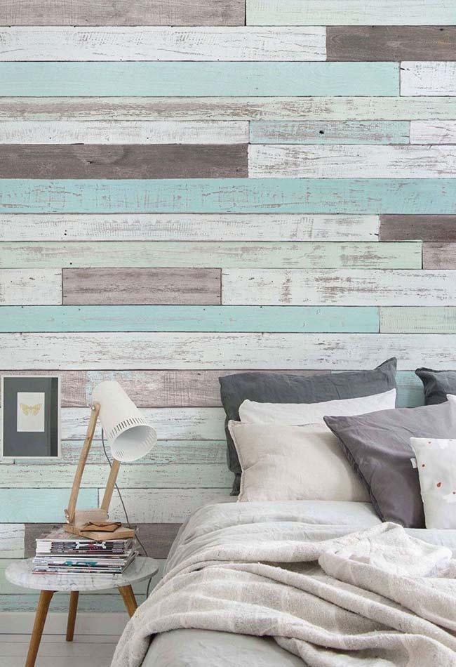 Patina and pallets form a perfect match