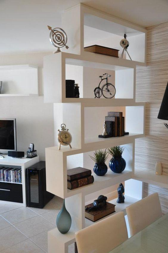 Plaster shelf: advantages and 60 projects to inspire 52