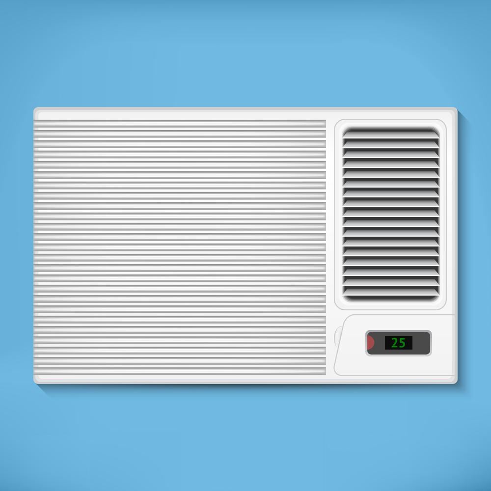 Conventional Window Air Conditioner