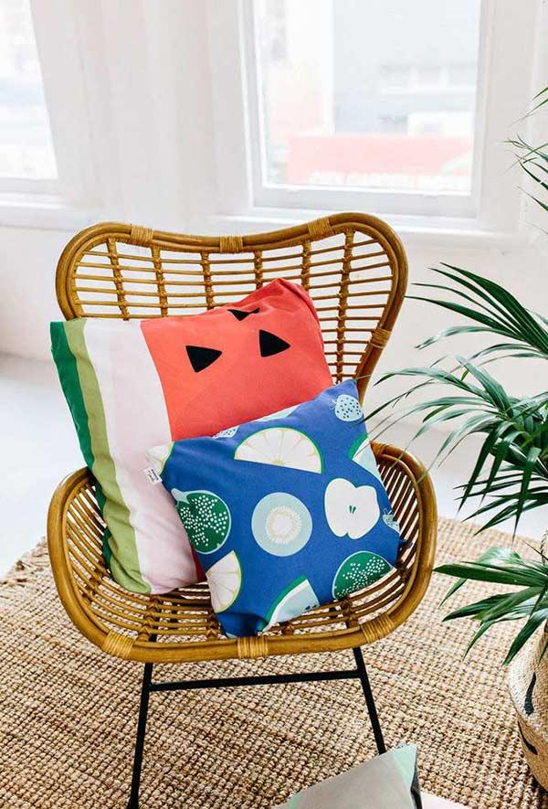 Fun pillows: 60 models full of joy to be inspired 17