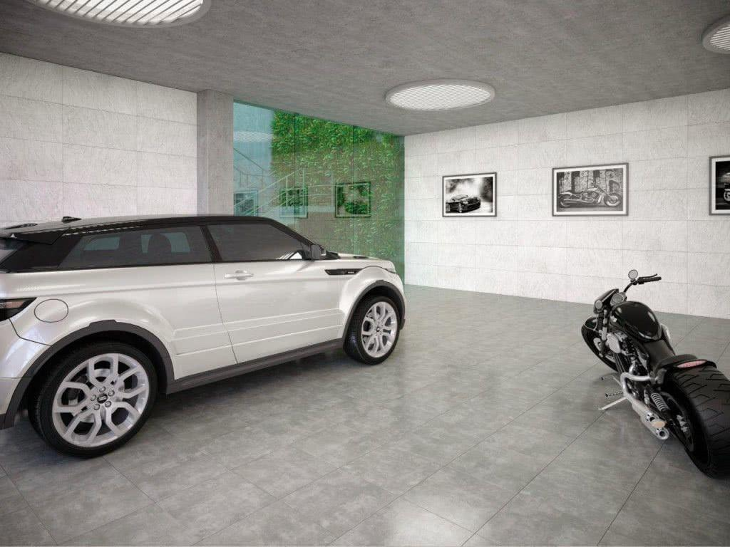 Floor to garage: see the main types and ideas to be inspired 1