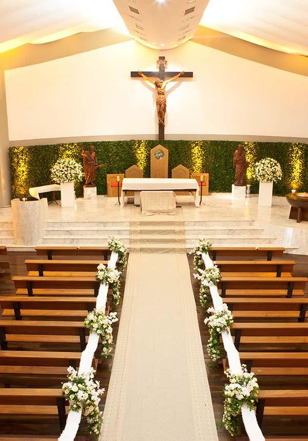 Church Decor for Wedding: 60 Creative Ideas to Be Inspired 9