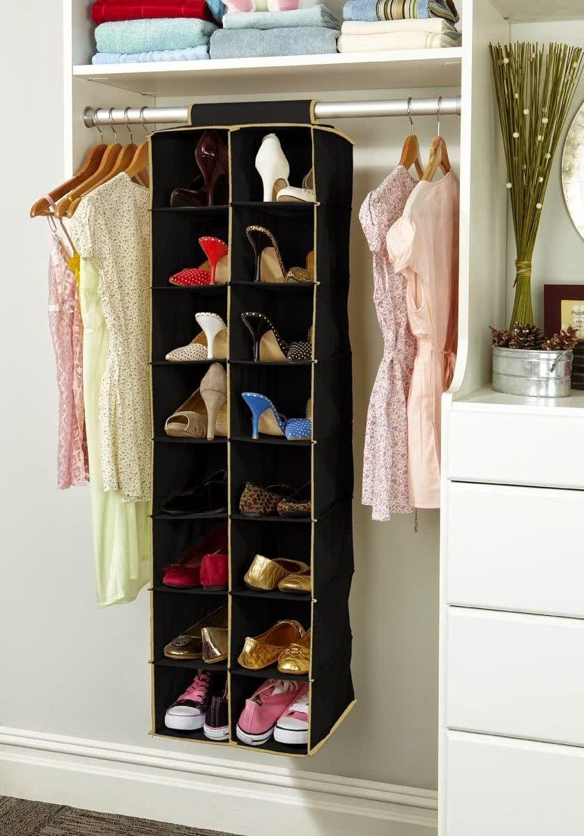 60 ideas and tips on how to organize shoes 4