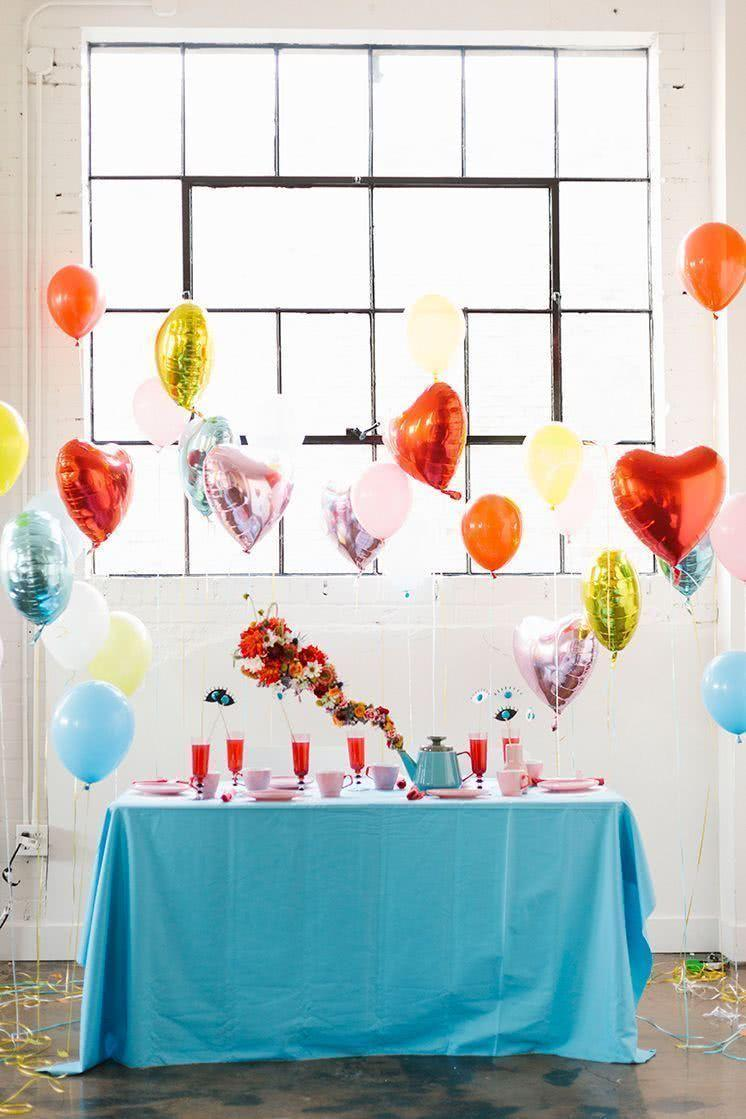 Decoration with balloons: 85 inspirations to decorate 6