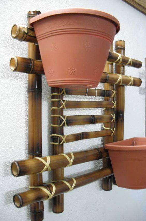 Bamboo Crafts: 60 models, photos and step by step DIY 37