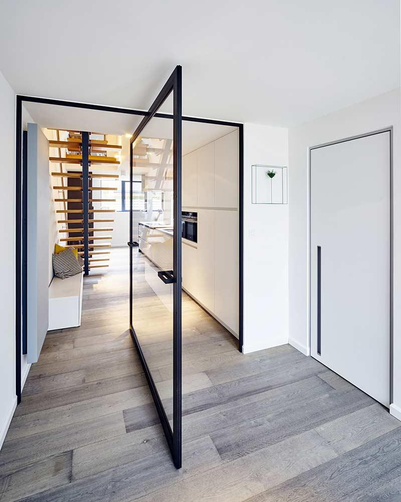 Glass door: 60 ideas and projects to inspire 5