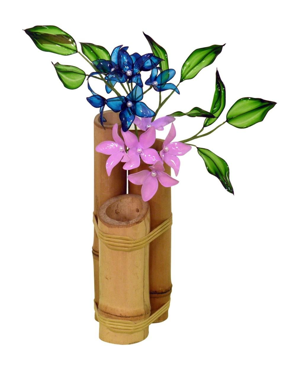 Bamboo Crafts: 60 models, photos and step by step DIY 44