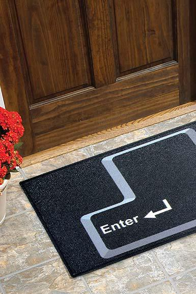 Fun doormats: welcome to brighten your home 10