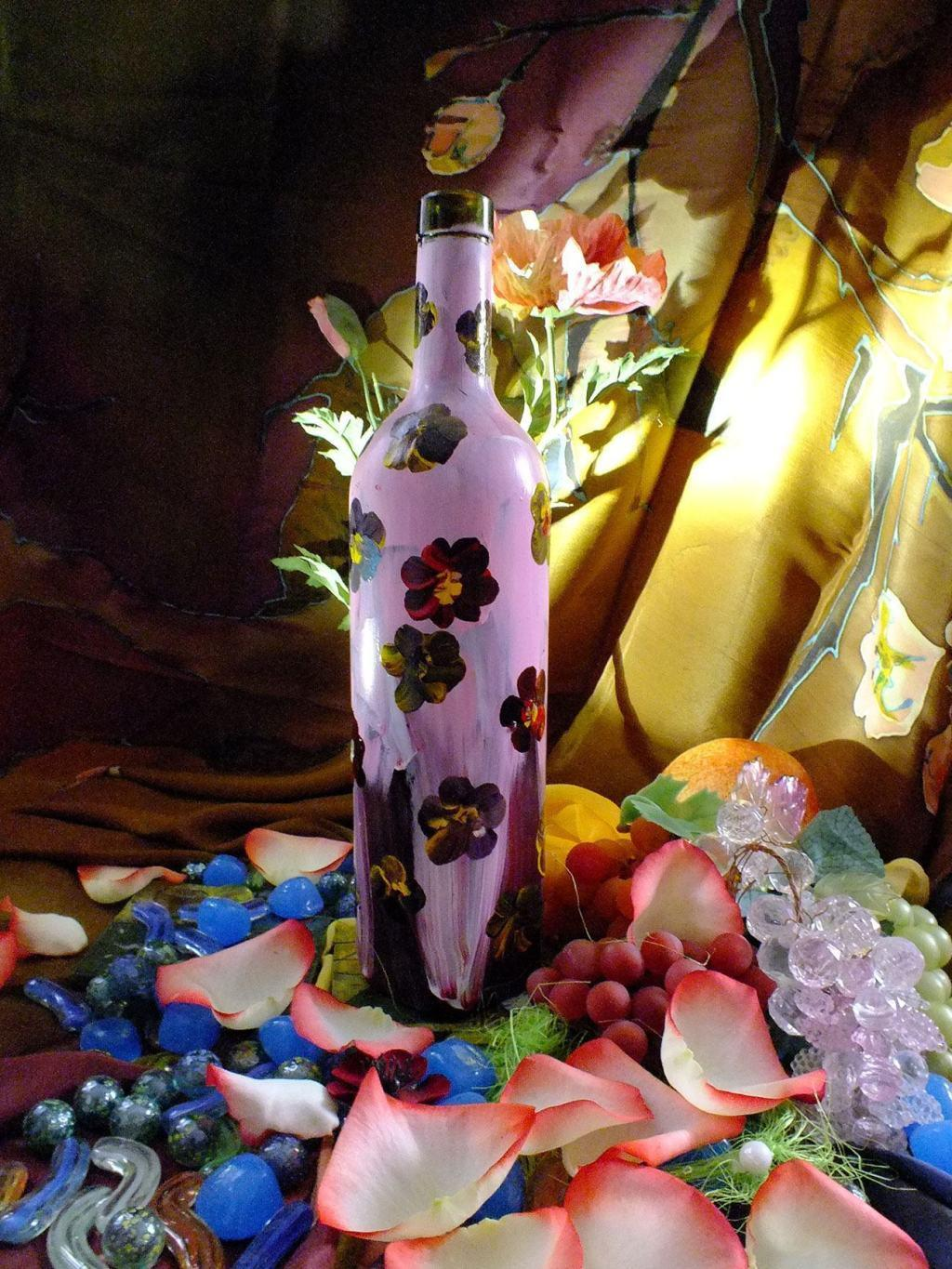 Craft with Glass Bottle: 80 Amazing Tips and Photos 21