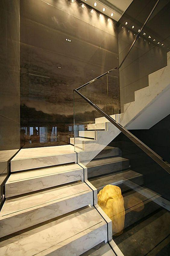 Stainless steel handrail: see tips and 60 models with photos 4