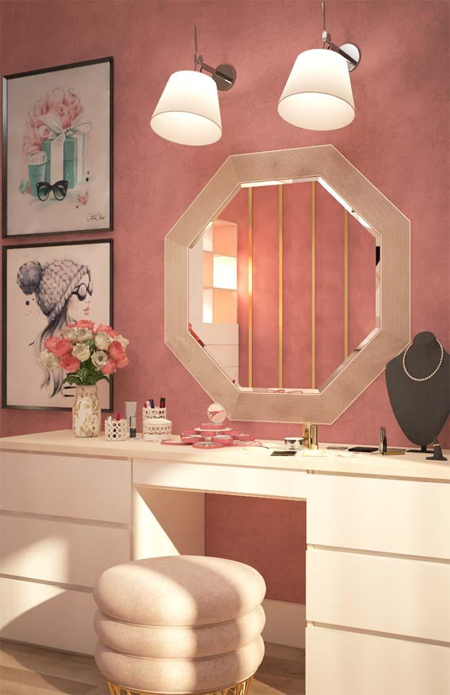 Dressing table Dressing table with lamp