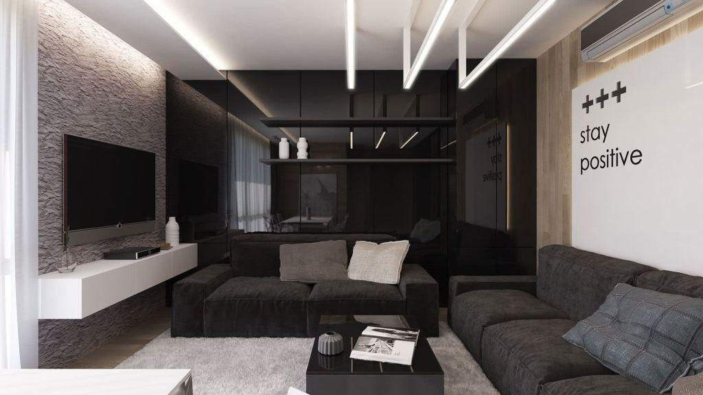 Black and white decoration: 60 inspiring ambient ideas 4