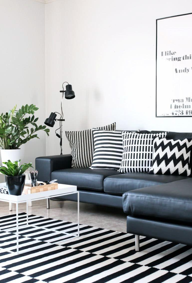 Black and white decoration: 60 ideas of environments to be inspired 2