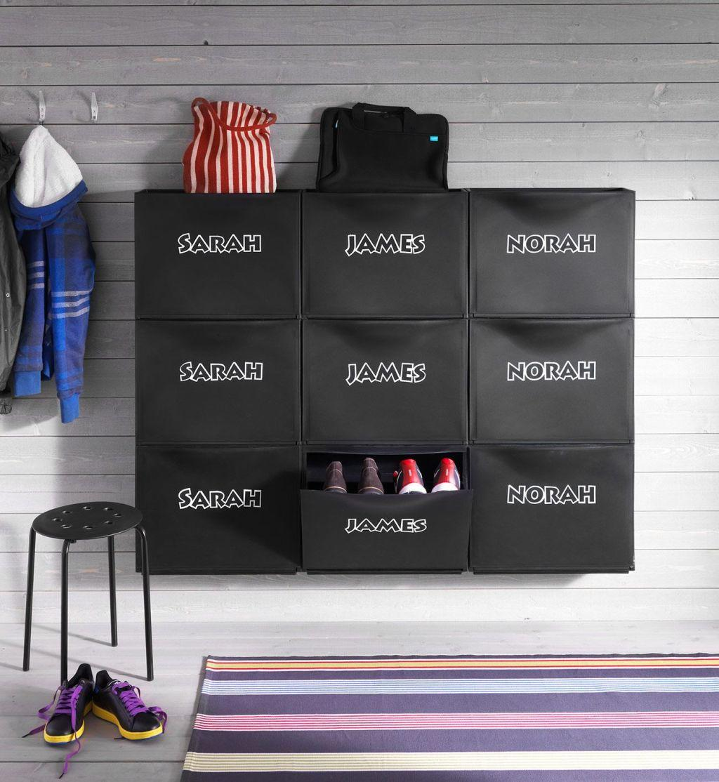 60 ideas and tips on how to organize shoes 17
