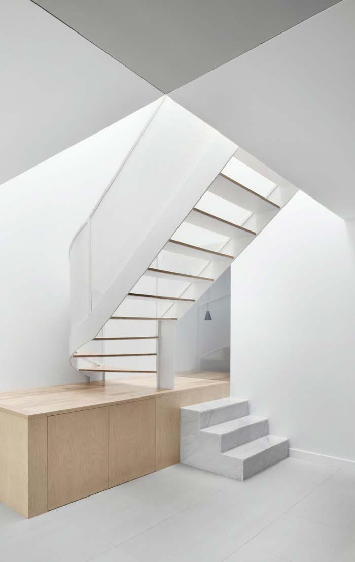 Ladder design with Sivec marble