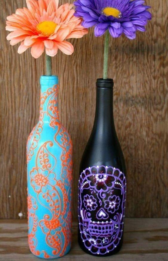 Craft with Glass Bottle: 80 Amazing Tips and Photos 14