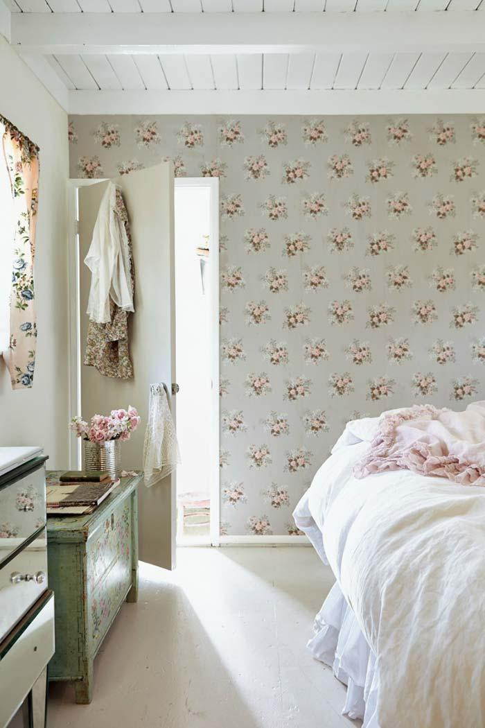 Room with Provencal decoration