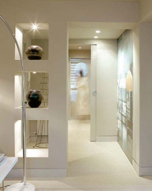 Plaster shelf: advantages and 60 projects to inspire 5