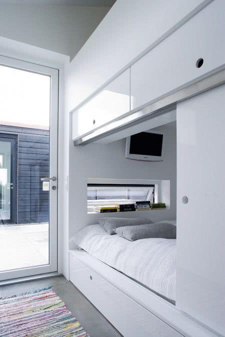 Sliding door: advantages of using and projects with photos 12