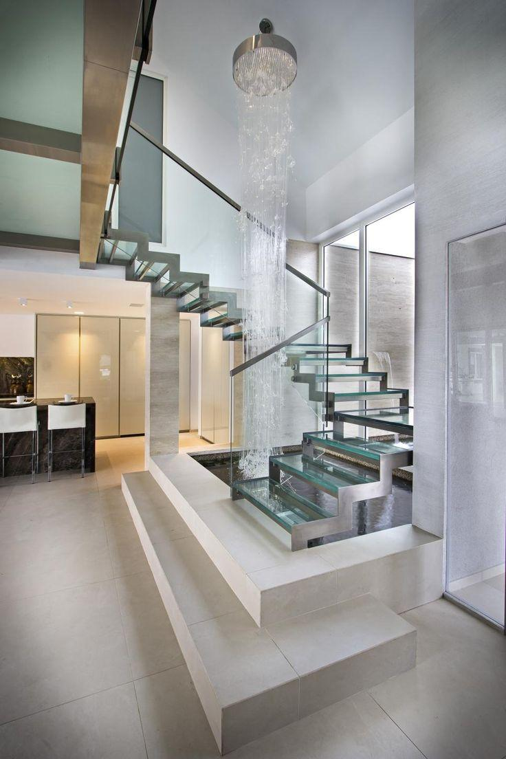 Stainless steel handrail: see tips and 60 models with photos 11