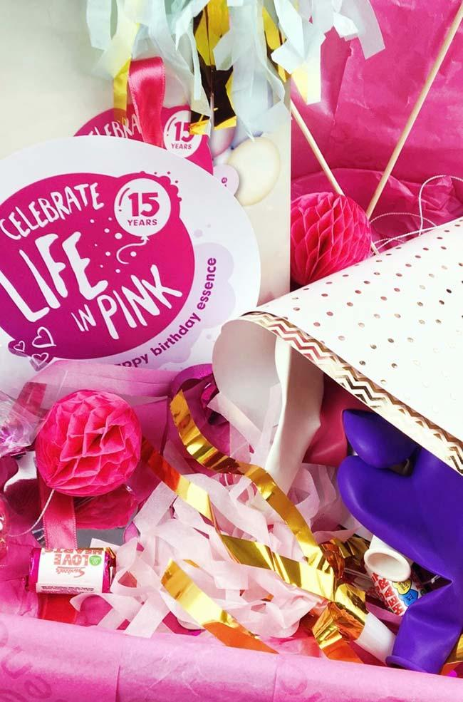 Party in the pink box