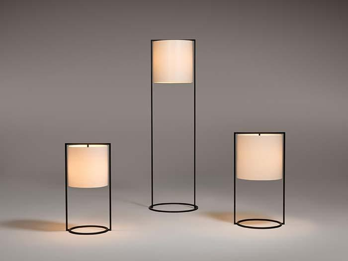 Contemporary PVC table lamp