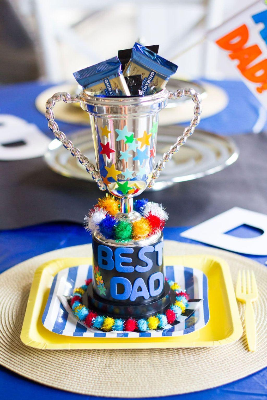 Fathers Day Decor: 60 Creative Ideas with Step By Step 17