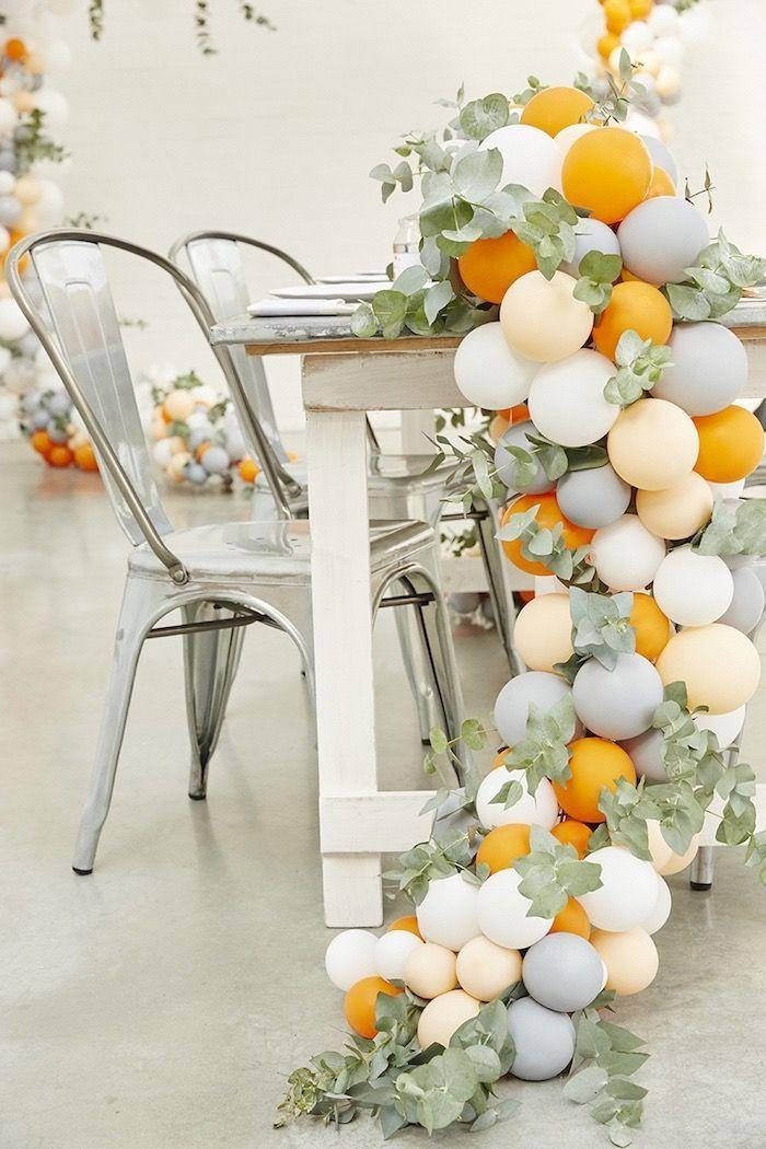 Decoration with balloons: 85 inspirations to decorate 35
