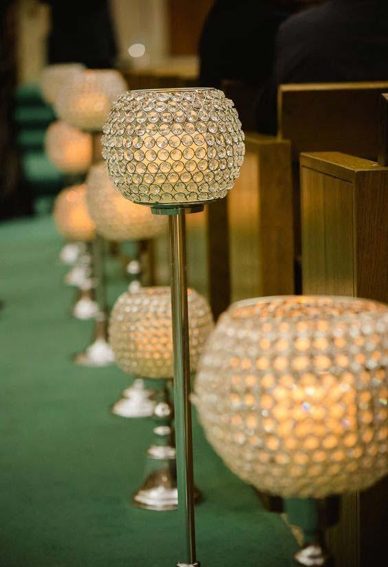 Church Decor for Wedding: 60 Creative Ideas to Be Inspired 10