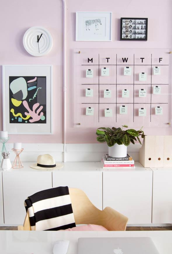 Light pink for office