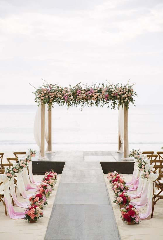 Perfect Mini Wedding on the Beach