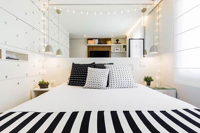 To create a cozier atmosphere in the bedroom