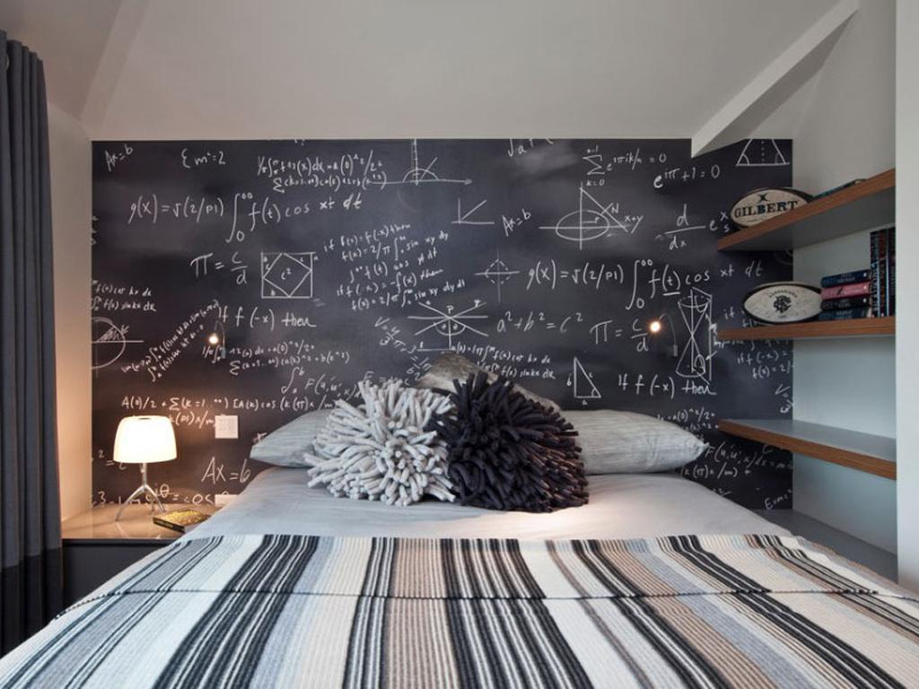 Wall board: 84 ideas, photos and how to do step by step 46