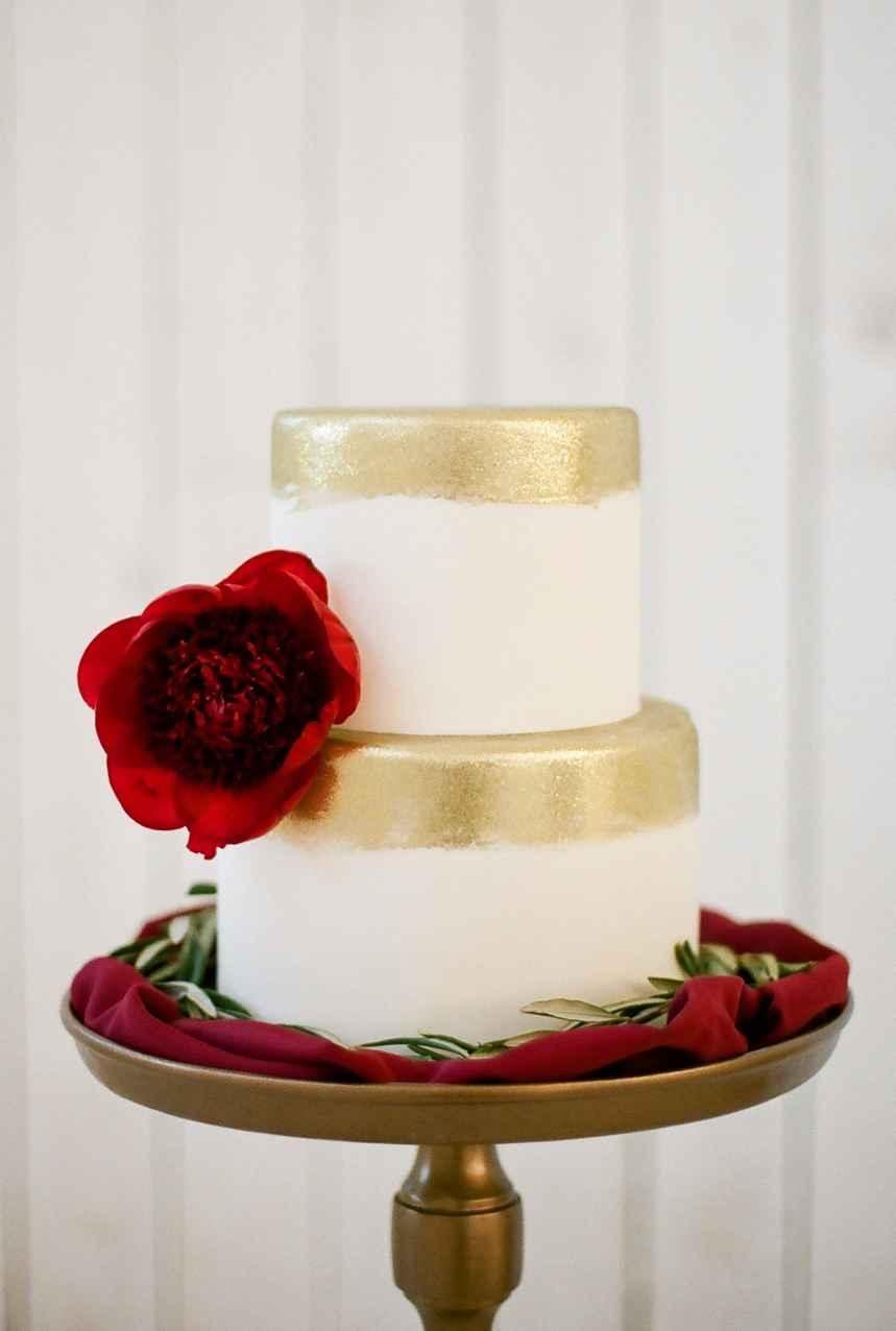 Golden wedding decoration: 60 ideas with photos to inspire 10