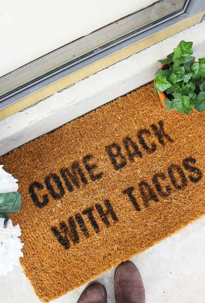 Funny doormats: welcome to brighten your home 17