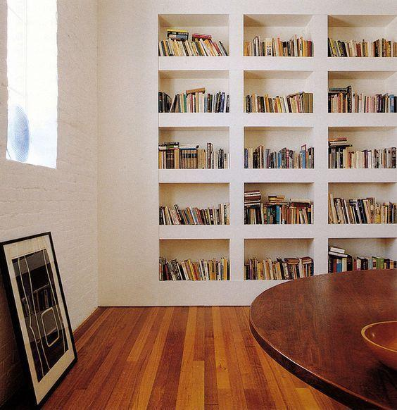 Plaster shelf: advantages and 60 projects to inspire 25