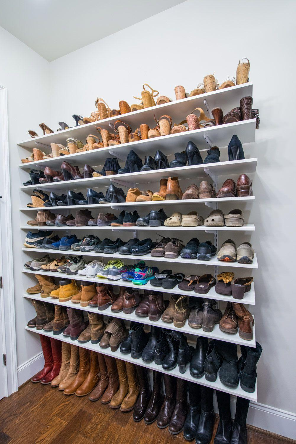 60 ideas and tips on how to organize shoes 11