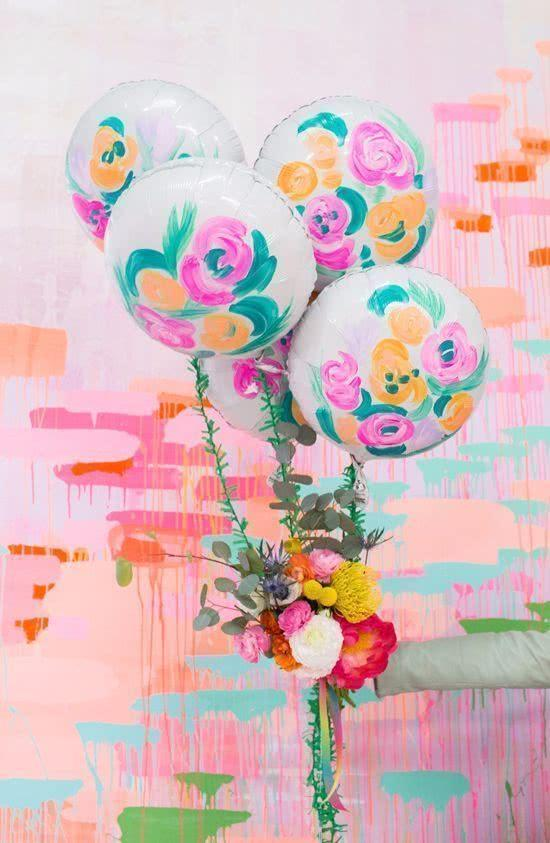Decoration with balloons: 85 inspirations to decorate 34