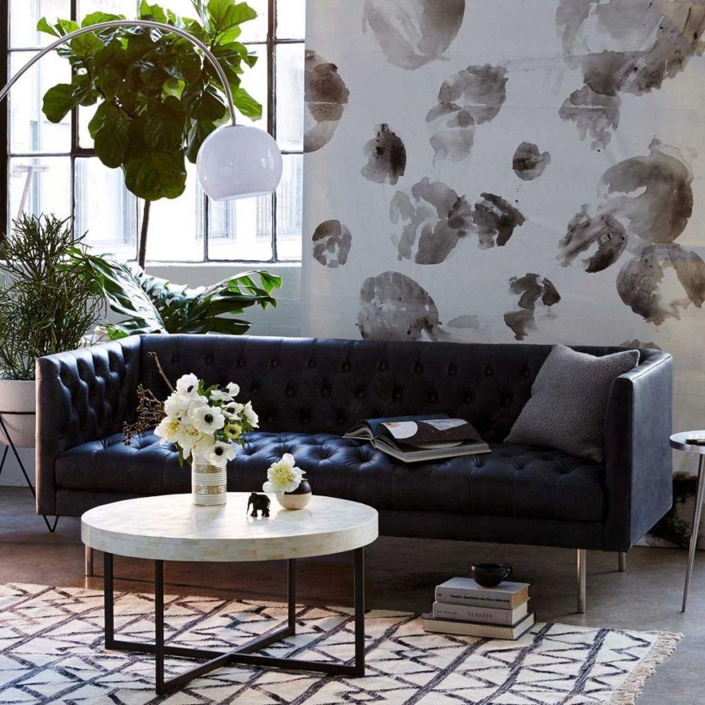 Leather sofa: 70 incredible models to decorate environments 34