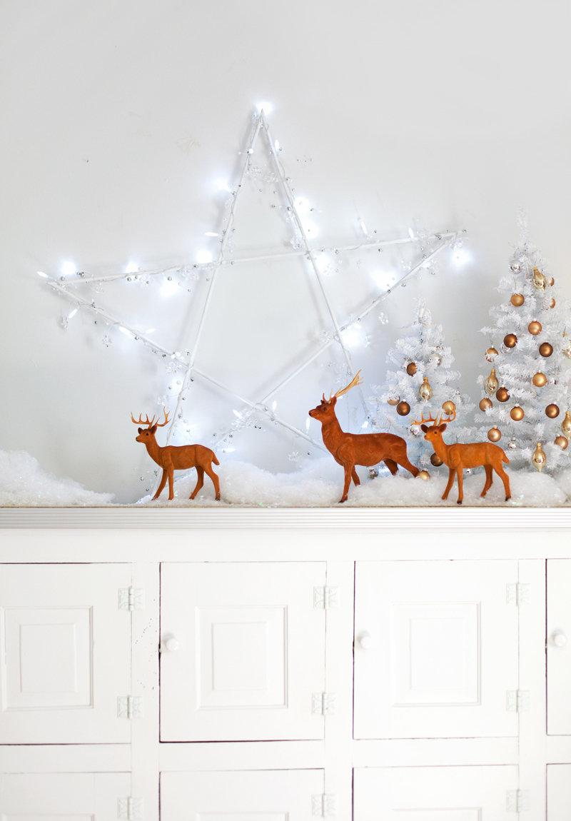 Simple and inexpensive Christmas decoration: 60 perfect ideas to inspire 26