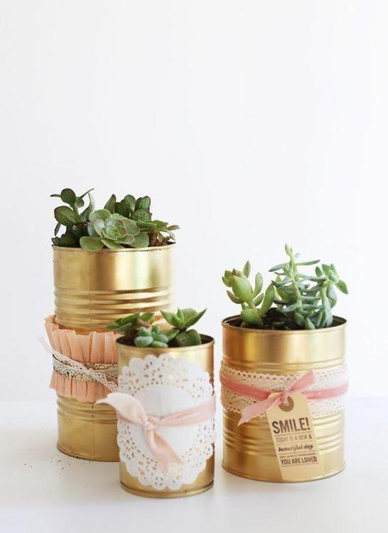 Decorated Cans: 70 Cool Ideas to Do at Home 61