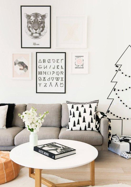 Simple and inexpensive Christmas decoration: 60 perfect ideas to inspire 10