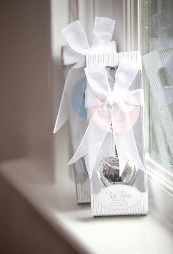 Tea Infuser as Baby Shower Souvenir