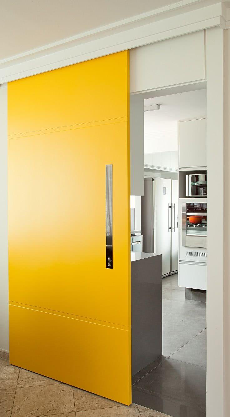 Sliding door: advantages of using and projects with photos 55