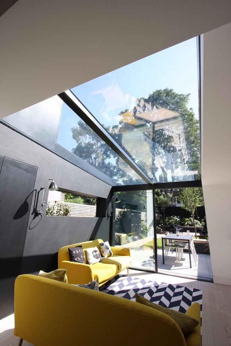 Glass roof: advantages, 60 photos and ideas to be inspired 16