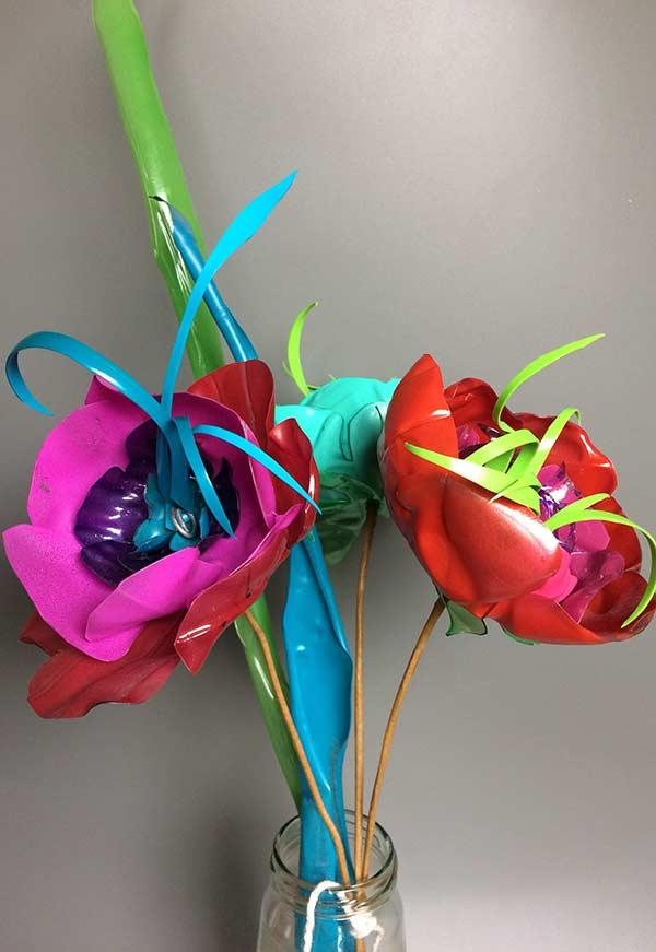 Super colorful flowers for your home